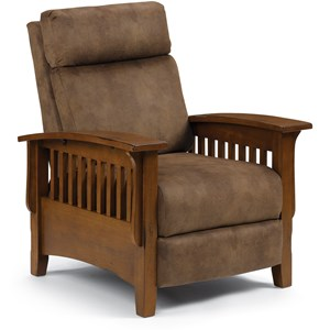 Best Home Furnishings Recliners - Pushback Tuscan Power Recliner