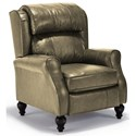Best Home Furnishings Recliners - Pushback Patrick Pushback Recliner - Item Number: 591813525-24629U