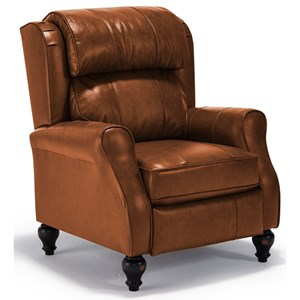 Best Home Furnishings Recliners - Pushback Patrick Pushback Recliner