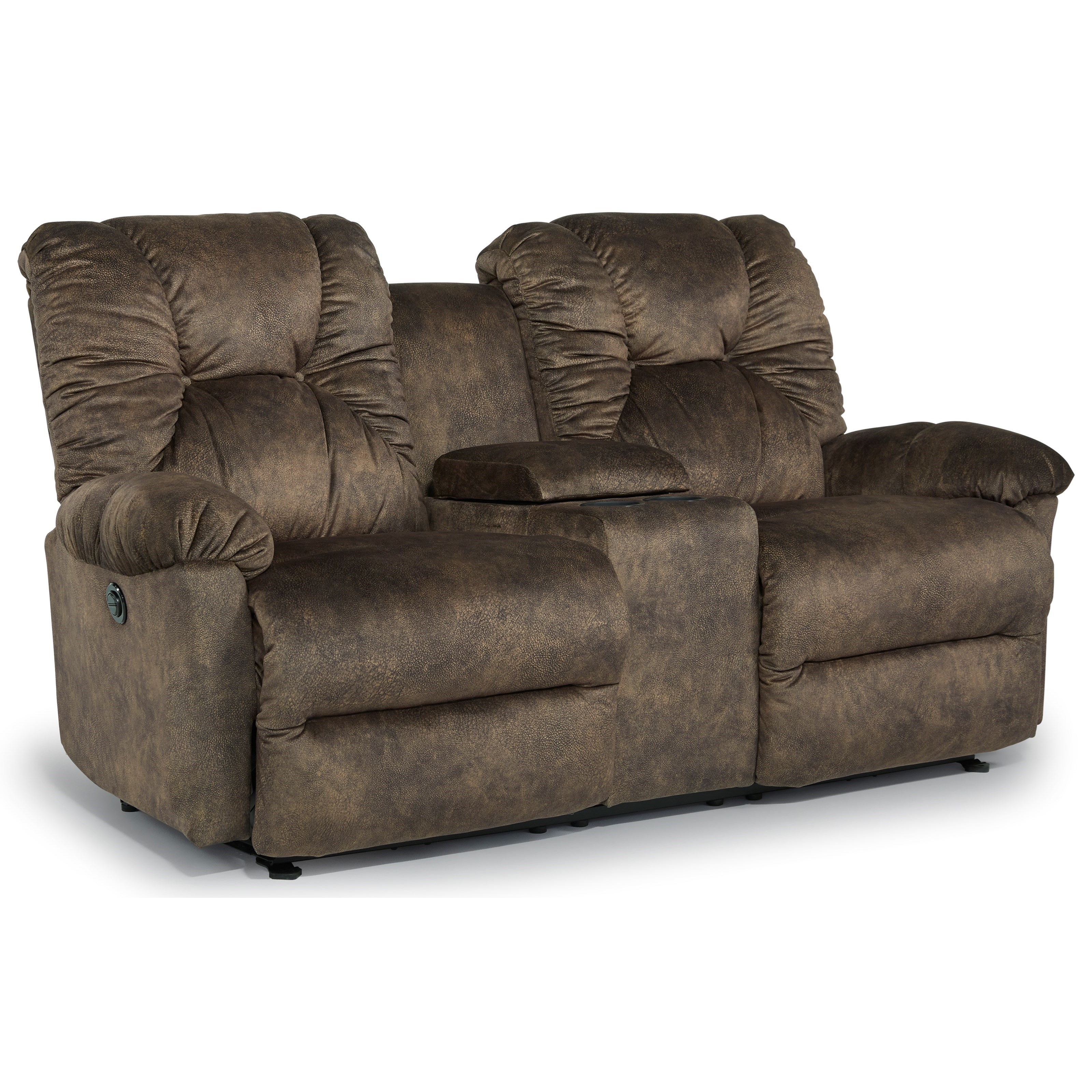 Rocking Reclining Loveseat with Console