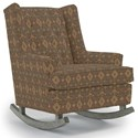 Best Home Furnishings Runner Rockers Paisley Rocking Chair - Item Number: 0165-20061