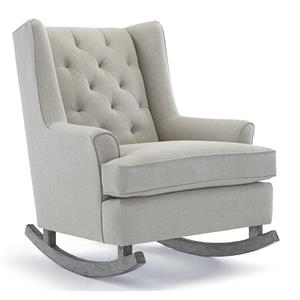 Morris Home Runner Rockers Paisley Rocking Chair