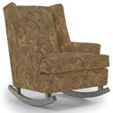 Best Home Furnishings Runner Rockers Paisley Rocking Chair - Item Number: 0165-22405