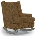 Best Home Furnishings Runner Rockers Paisley Rocking Chair - Item Number: 0165-22406