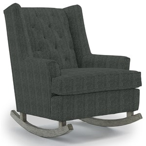 Best Home Furnishings Runner Rockers Paisley Rocking Chair
