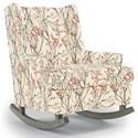 Best Home Furnishings Runner Rockers Paisley Rocking Chair - Item Number: 0165-24017