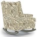 Best Home Furnishings Runner Rockers Paisley Rocking Chair - Item Number: 0165-24547