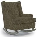 Best Home Furnishings Runner Rockers Paisley Rocking Chair - Item Number: 0165-25032
