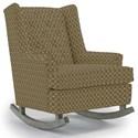 Best Home Furnishings Runner Rockers Paisley Rocking Chair - Item Number: 0165-25796