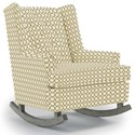 Best Home Furnishings Runner Rockers Paisley Rocking Chair - Item Number: 0165-25797
