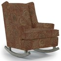 Best Home Furnishings Runner Rockers Paisley Rocking Chair - Item Number: 0165-26018