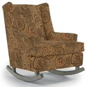 Best Home Furnishings Runner Rockers Paisley Rocking Chair - Item Number: 0165-26019