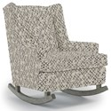 Best Home Furnishings Runner Rockers Paisley Rocking Chair - Item Number: 0165-26083