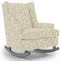 Best Home Furnishings Runner Rockers Paisley Rocking Chair - Item Number: 0165-26089