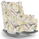 Best Home Furnishings Runner Rockers Paisley Rocking Chair - Item Number: 0165-26989