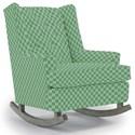 Best Home Furnishings Runner Rockers Paisley Rocking Chair - Item Number: 0165-27062