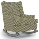 Best Home Furnishings Runner Rockers Paisley Rocking Chair - Item Number: 0165-27063