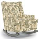 Best Home Furnishings Runner Rockers Paisley Rocking Chair - Item Number: 0165-27223