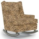 Best Home Furnishings Runner Rockers Paisley Rocking Chair - Item Number: 0165-27505