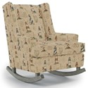 Best Home Furnishings Runner Rockers Paisley Rocking Chair - Item Number: 0165-27777