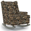 Best Home Furnishings Runner Rockers Paisley Rocking Chair - Item Number: 0165-27909