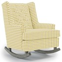 Best Home Furnishings Runner Rockers Paisley Rocking Chair - Item Number: 0165-28061