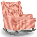 Best Home Furnishings Runner Rockers Paisley Rocking Chair - Item Number: 0165-28068