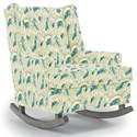 Best Home Furnishings Runner Rockers Paisley Rocking Chair - Item Number: 0165-28402