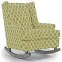 Best Home Furnishings Runner Rockers Paisley Rocking Chair - Item Number: 0165-28421