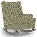 Best Home Furnishings Runner Rockers Paisley Rocking Chair - Item Number: 0165-28423