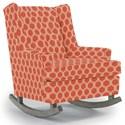 Best Home Furnishings Runner Rockers Paisley Rocking Chair - Item Number: 0165-28424
