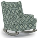 Best Home Furnishings Runner Rockers Paisley Rocking Chair - Item Number: 0165-28652