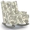 Best Home Furnishings Runner Rockers Paisley Rocking Chair - Item Number: 0165-28722