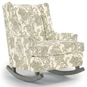 Best Home Furnishings Runner Rockers Paisley Rocking Chair - Item Number: 0165-28723