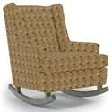 Best Home Furnishings Runner Rockers Paisley Rocking Chair - Item Number: 0165-28745