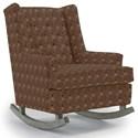 Best Home Furnishings Runner Rockers Paisley Rocking Chair - Item Number: 0165-28746