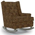 Best Home Furnishings Runner Rockers Paisley Rocking Chair - Item Number: 0165-28765