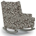 Best Home Furnishings Runner Rockers Paisley Rocking Chair - Item Number: 0165-28823