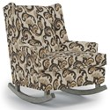 Best Home Furnishings Runner Rockers Paisley Rocking Chair - Item Number: 0165-28829