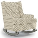Best Home Furnishings Runner Rockers Paisley Rocking Chair - Item Number: 0165-28843