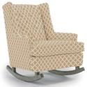 Best Home Furnishings Runner Rockers Paisley Rocking Chair - Item Number: 0165-28849