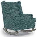 Best Home Furnishings Runner Rockers Paisley Rocking Chair - Item Number: 0165-29092