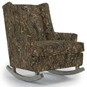 Best Home Furnishings Runner Rockers Paisley Rocking Chair - Item Number: 0165-29116