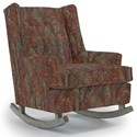 Best Home Furnishings Runner Rockers Paisley Rocking Chair - Item Number: 0165-29118