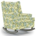 Best Home Furnishings Runner Rockers Paisley Rocking Chair - Item Number: 0165-30051