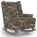 Best Home Furnishings Runner Rockers Paisley Rocking Chair - Item Number: 0165-30103