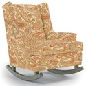 Best Home Furnishings Runner Rockers Paisley Rocking Chair - Item Number: 0165-30508