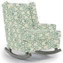 Best Home Furnishings Runner Rockers Paisley Rocking Chair - Item Number: 0165-30562