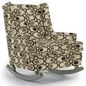 Best Home Furnishings Runner Rockers Paisley Rocking Chair - Item Number: 0165-30563