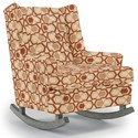 Best Home Furnishings Runner Rockers Paisley Rocking Chair - Item Number: 0165-30564